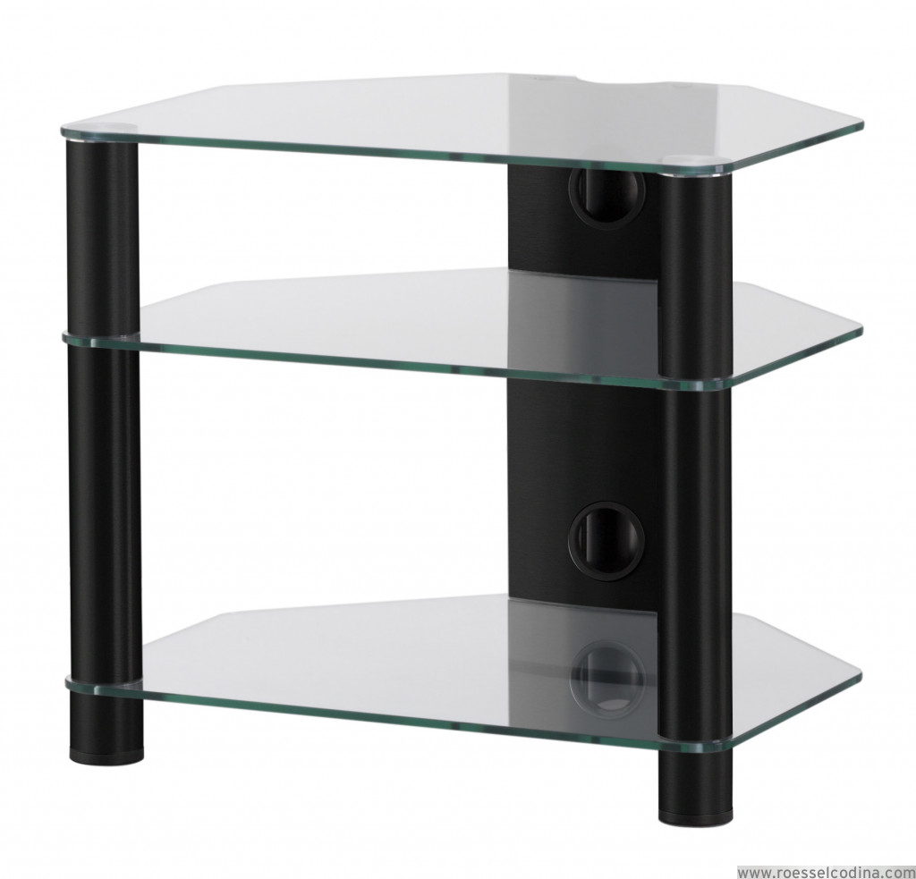 Roesselcodina product rx2130 tg mueble hifi de 3 for Mueble 3 estantes