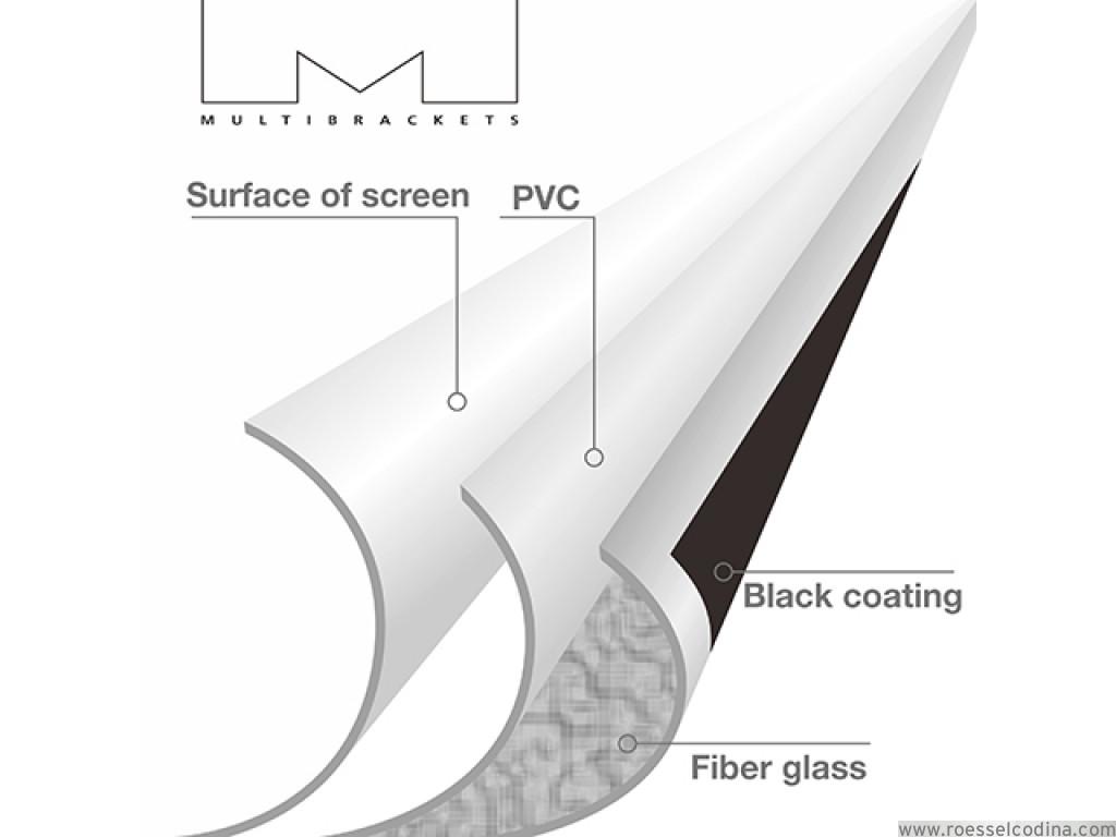 RoesselCodina Product: FRA108-35 - Pantalla de proyección con marco ...