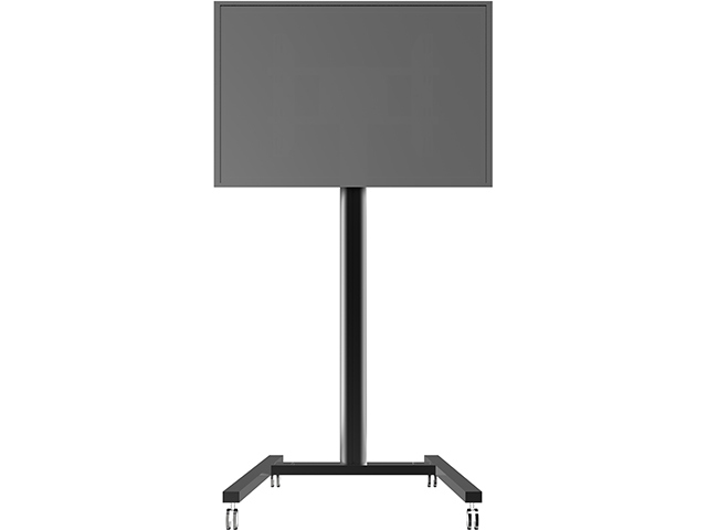 Peana TV DISPLAY STAND 180/2 N.(180 cms de altura). Negro.