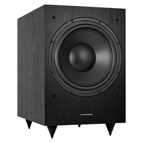 "Subwoofer amplificado de 10"" MAGIC MW10. Negro."