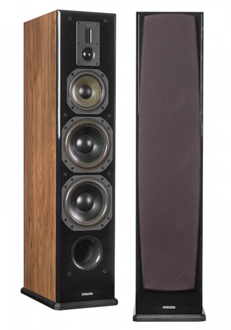 Altavoces de suelo DEFINITION DF-8. Roble natural.