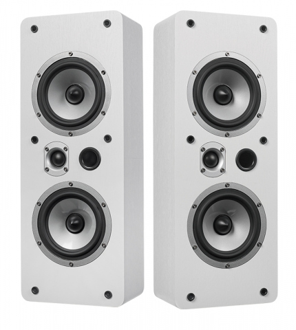 Altavoces de pared o techo MAGIC LCR-5 v.3. Blanco