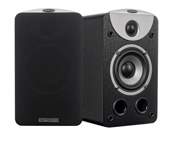 Altavoces de estantería MAGIC S-4 v.3. Negro.