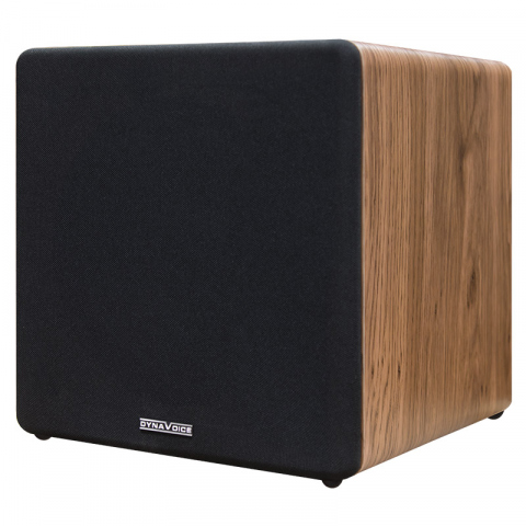 "Subwoofer amplificado de 8"" MAGIC SUB-8R. Roble."