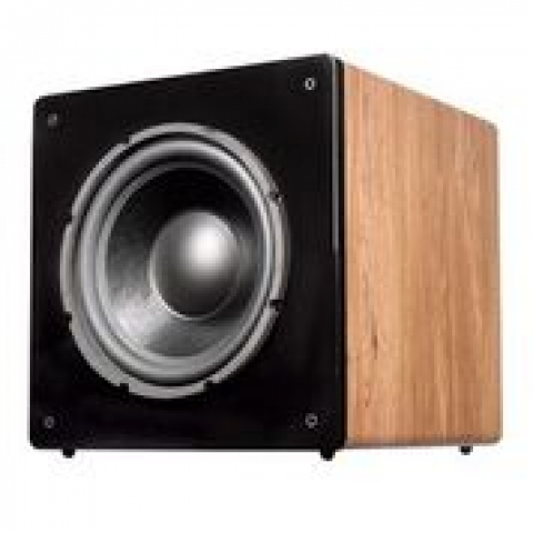 Subwoofer amplificado CHALLENGER SUB-12- Roble.