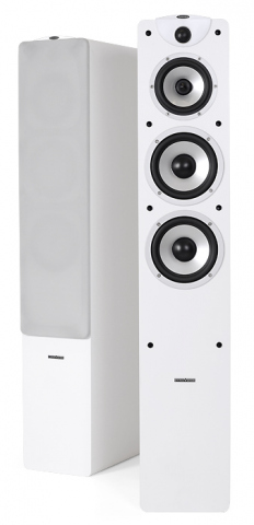 Altavoces de suelo MAGIC F-7 v.3. Blanco.