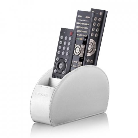REMOTE STAND BLANCO - Estuche para mantener ordenados los mandos a distancia. C/blanco