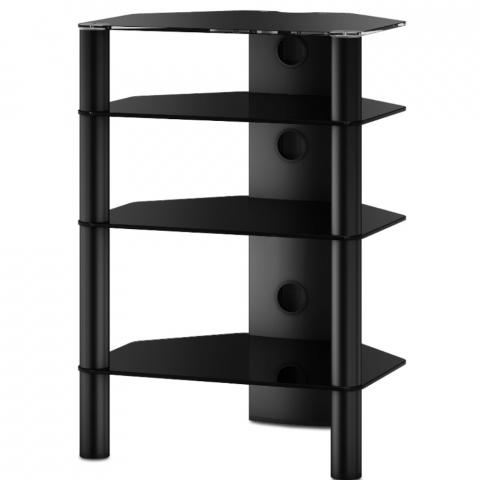 Roesselcodina product rx2140 nn mueble hifi de 4 for Mueble equipo hifi