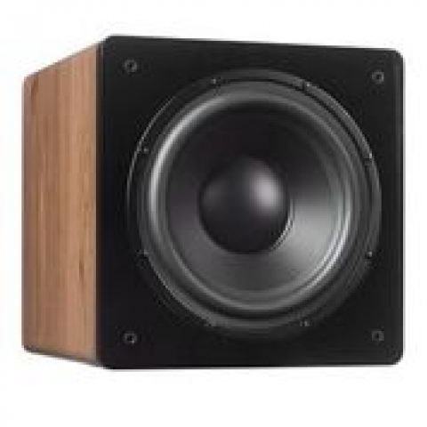 Subwoofer amplificado CHALLENGER SUB-10-Roble natural.